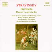 Stravinsky: Pulcinella, Danses Concertantes / Sanderling