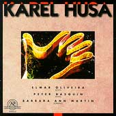 Husa: Sonata for Violin & Piano, etc / Oliveira, Basquin