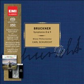 Bruckner: Symphonies 8 & 9 / Carl Schuricht, Vienna Philharmonic [Limited Ed.]