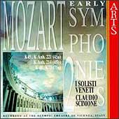 Mozart: Early Symphonies Vol 2 / Scimone, I Solisti Veneti