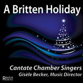 A Britten Holiday - Jubilate Deo; The Sycamore Tree; The Oxen; The Holly and the Ivy; A New Year Carol; Antiphon / Eric Plutz, organ