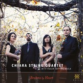 Brahms by Heart - String Quartets (3); Quintet for Strings / Roger Tapping, viola; Chiara Quartet
