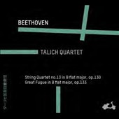 Beethoven: String Quartet No. 13; Great Fugue, Op. 133 / Talich Quartet