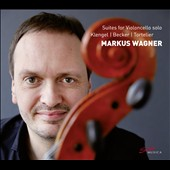 Suites for Violoncello Solo, by Klenger, Becker & Tortelier / Markus Wagner, cello