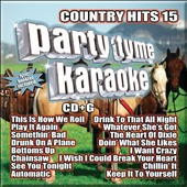 Karaoke: Party Tyme Karaoke: Country Hits, Vol. 15