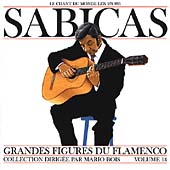 Sabicas: Great Masters of Flamenco, Vol. 14