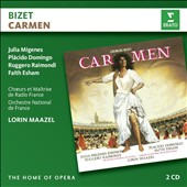 Bizet: Carmen / Julia Migenes, Placido Domingo, Ruggero Raimondi, Faith Esham. French Nat'l Orch. & Chorus, Lorin Maazel