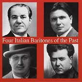 Four Italian Baritones of the Past - Molinari, et al