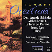 Famous Overtures / Antonio de Almeida, Moscow SO