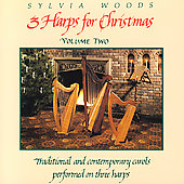 Sylvia Woods: 3 Harps For Christmas Volume Two *