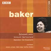 Schubert: Lieder / Janet Baker