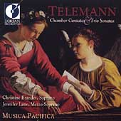 Telemann: Chamber Cantatas, Trio Sonatas / Musica Pacifica