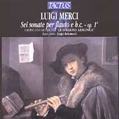 Merci: Flute Sonatas Op 1 /Balestracci, La Stagione Armonico