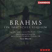 Brahms: Ein Deutsches Requiem / Albrecht, Skovhus, et al