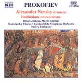 Prokofiev: Alexander Nevsky, Pushkiniana, etc / Yablonsky