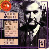 Vaughan Williams: Symphonies 3 & 4, Greensleeves / Slatkin