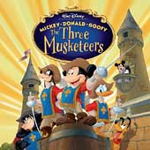 Disney: Mickey Donald Goofy: The Three Musketeers