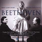 Beethoven: Triple Concerto, etc / Harnoncourt, Aimard