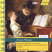 Liszt: Piano Works / Vladimir Bunin