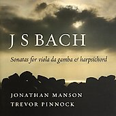Bach: Sonatas for Viola da Gamba / Manson, Pinnock