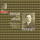 Respighi: Complete Songs Vol 3 / Scano, Catzel, et al
