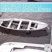 Enescu: Suite d'Orchestre, Interm&egrave;de, Symphony 1 / Mandeal