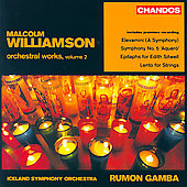 Williamson: Orchestral Works Vol 2 / Gamba, Iceland SO