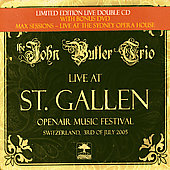 John Butler (Australia)/The John Butler Trio: Live at St. Gallen