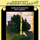Raff: Symphonies no 8 & 10 / Stadlmair, Bamberg SO