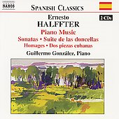 Spanish Classics - Halffter: Piano Music / Gonz&aacute;lez