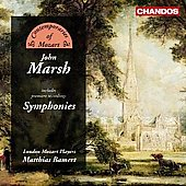 Marsh: Symphonies / Bamert, London Mozart Players