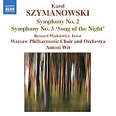 Szymanowski: Symphonies no 2 and 3 / Wit, et al