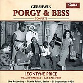 Gershwin: Porgy and Bess / Smallens, Price, Warfield, Calloway, et al