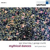 Mythical Dances - Stravinsky, Crumb / Belli Piano Duo