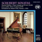 Schubert Sonatas / Howard Shelley