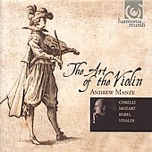 The Art of the Violin / Andrew Manze