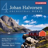 Johan Halvorsen: Orchestral Works, Vol. 4 / Melina Mandozzi, violin; Ilze Klava, viola
