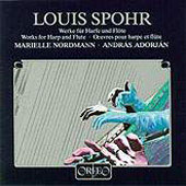 Spohr: Works for Harp and Flute / Nordmann, Adorján