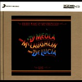 John McLaughlin/Al di Meola/Paco de Luc&#237;a: Friday Night in San Francisco [Digipak]
