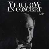 Yerlow in Concert - Solo piano works by Scriabin, et al