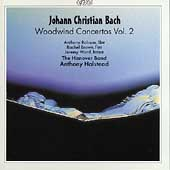 J.C. Bach: Woodwind Concertos Vol 2 / Halstead, Hanover Band