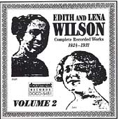 Edith Wilson/Lena Wilson: Complete Recorded Works in Chronological Order, Vol. 2 (1924-31)