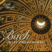 Bach: Great Organ Works / Martin Souter, organ
