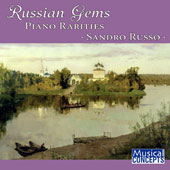 Russian Gems: Piano Rarities / Sandro Russo, piano