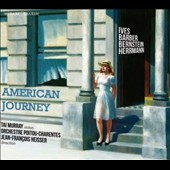 American Journey - Barber: Adagio for Strings; Bernstein: Serenade; Herrmann: Psycho Suite; Gershwin: 3 Preludes for Piano; Ives: Unanswered Question / Tai Murray (violin), Jean-François Heisser (piano)