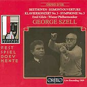 Beethoven: Concerto no 3, Symphony no 5, etc / Szell, et al