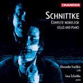 Schnittke: Works for Cello & Piano / Ivashkin, Schnittke