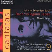 Bach: Cantatas Vol 9 / Suzuki, Bach Collegium Japan