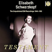 Elisabeth Schwarzkopf - Unpublished EMI Recordings 1946-52