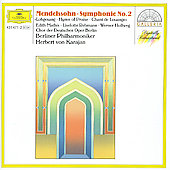 Mendelssohn: Symphony no 2 / Karajan, Berlin Philharmonic